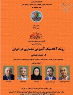نشست «روند آکادمیک آموزش معماری در ایران (دانشگاه شهید بهشتی)»