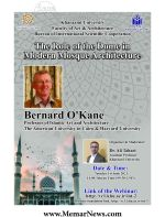 وبینار با موضوع «نقش گنبد در معماری مدرن مساجد»