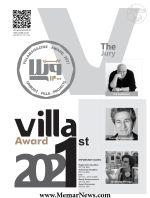 فراخوان نخستین دوره ی «جایزه ی ویلا»