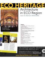 شماره پانزدهم نشریه تخصصی HERITAGE ECO    -
