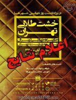 اعلام نتایج دومین دوره جشنواره جهانی خشت طلایی تهران