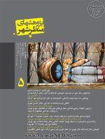 دوفصلنامه پژوهشهای منظر شهر، شماره ۵، بهار و تابستان ۱۳۹۵-