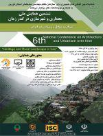 فراخوان ارسال مقالات ششمین همایش ملی معماری و شهرسازی در گذر زمان