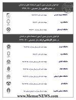 ده فراخوان پذیرش بدون آزمون استعدادهای درخشان در مقاطع دکتری و کارشناسی ارشد سال ۱۴۰۰-۱۳۹۹