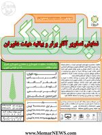 نمایش تصاویر آثار برتر و بیانیه هیئت داوران مسابقه طراحی «پل _ پیاده راه» شیراز