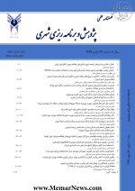 دریافت مقالات فصلنامه علمی پژوهش و برنامه ریزی شهری، شماره ۴۲، پاییز ۱۳۹۹