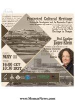 وبینار با موضوع «توسعه پایدار در میراث فرهنگی با بررسی نمونه ای از پروژههای