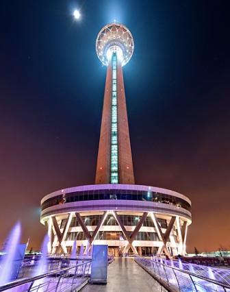 عکس از سایت برج میلاد
